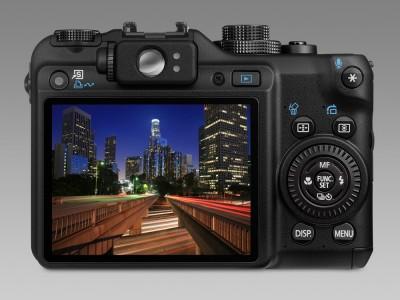 Canon G10 baksida
