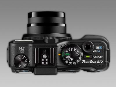Canon G10 topvy