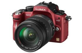 Lumix GH1 röd
