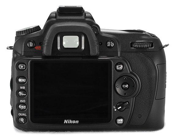 Nikon D90 baksida