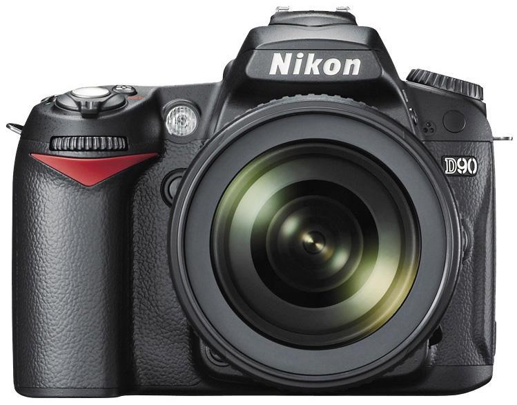 Nikon D90 front