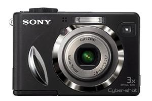 Sony DSC-W17 front