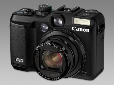 Canon G10 front snett