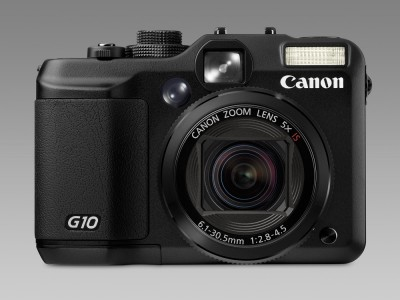 Canon G10 front