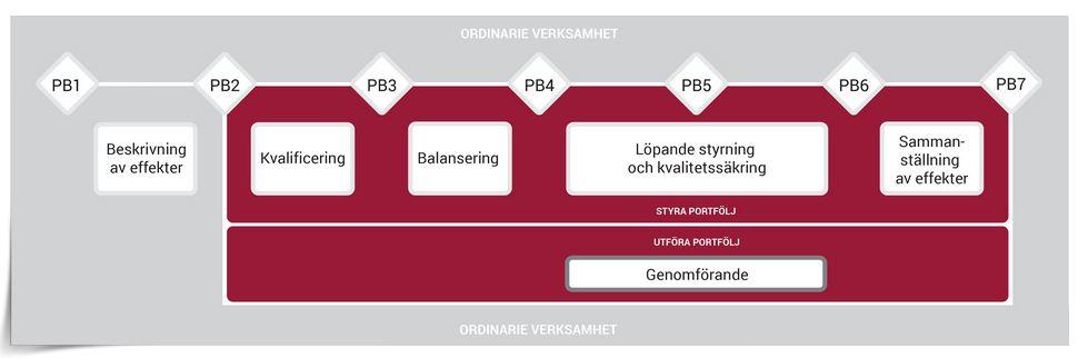 Pejl-Portföljstyrningsmodell