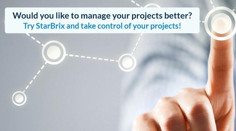 Testar projektverktyget StarBrix